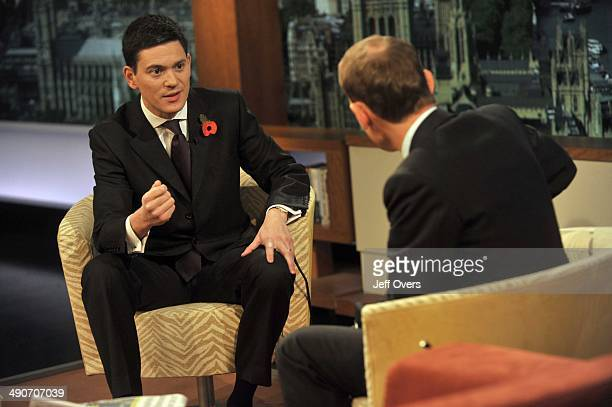 Andrew Marr interviews Foreign Secretary David Miliband who was appearing on The Andrew Marr Show November 9th 2008 where he said that the dispatch...