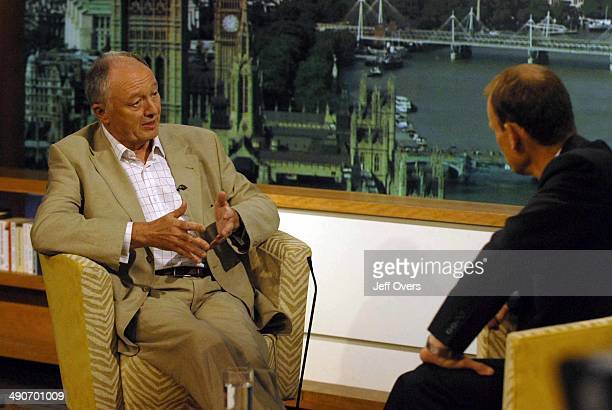 Andrew Marr listens to Ken Livingstone during an interview on the Andrew Marr Show the BBC One current affairs programme Ken Livingstone has said he...