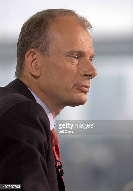 Andrew Marr presenter of the BBC television programme Sunday AM