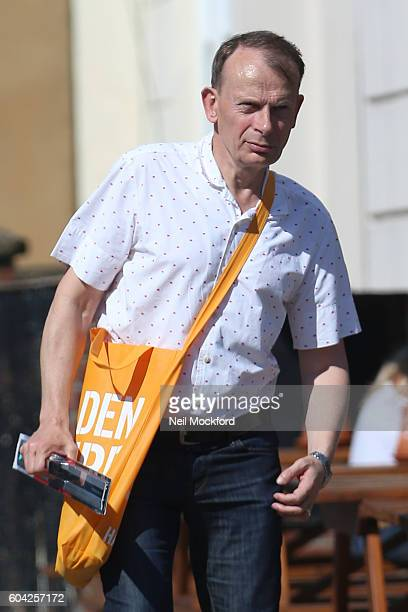 Andrew Marr sighting in Primrose Hill on September 13 2016 in London England