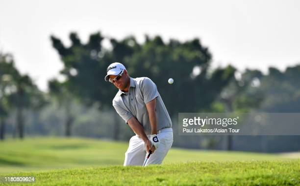 Andrew Martin of Australia pictured during the second round of the Thailand Open at the Thai Country Club on November 8, 2019 in Chachoengsao,...