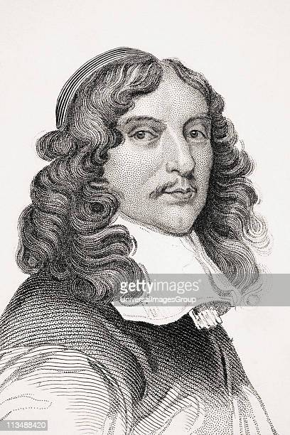 Andrew Marvell 16211678 English metaphysical poet From Old England's Worthies by Lord Brougham and others published London circa 1880's
