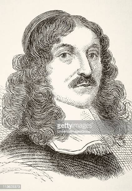 Andrew Marvell 1621to 1678 English metaphysical poet From The National and Domestic History of England by William Aubrey published London circa 1890