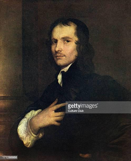 Andrew Marvell portrait Portrait by Hanneman English poet 31 March 1621 – 16 August 1678