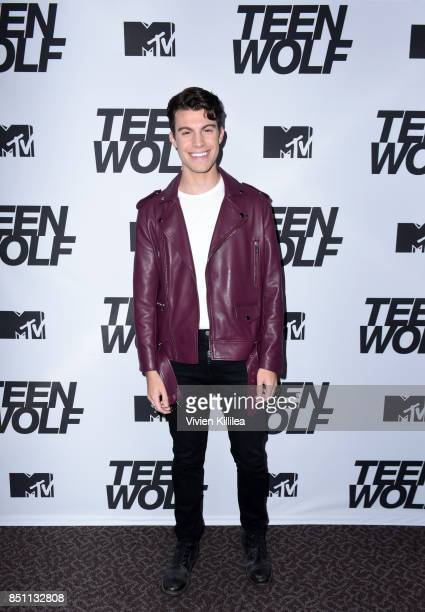 Andrew Matarazzo at the MTV Teen Wolf 100th episode screening and series wrap party at DGA Theater on September 21 2017 in Los Angeles California