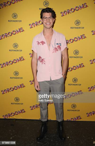 Andrew Matarazzo attends Refinery29's 29Rooms San Francisco Turn It Into Art Opening Party 2018 at Palace of Fine Arts on June 20 2018 in San...