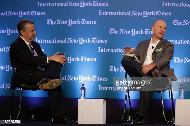 Andrew McAfee Principal Research Scientist Massachusetts Institute of Technology speaks with Thomas L Friedman OpEd columnist The New York Times...