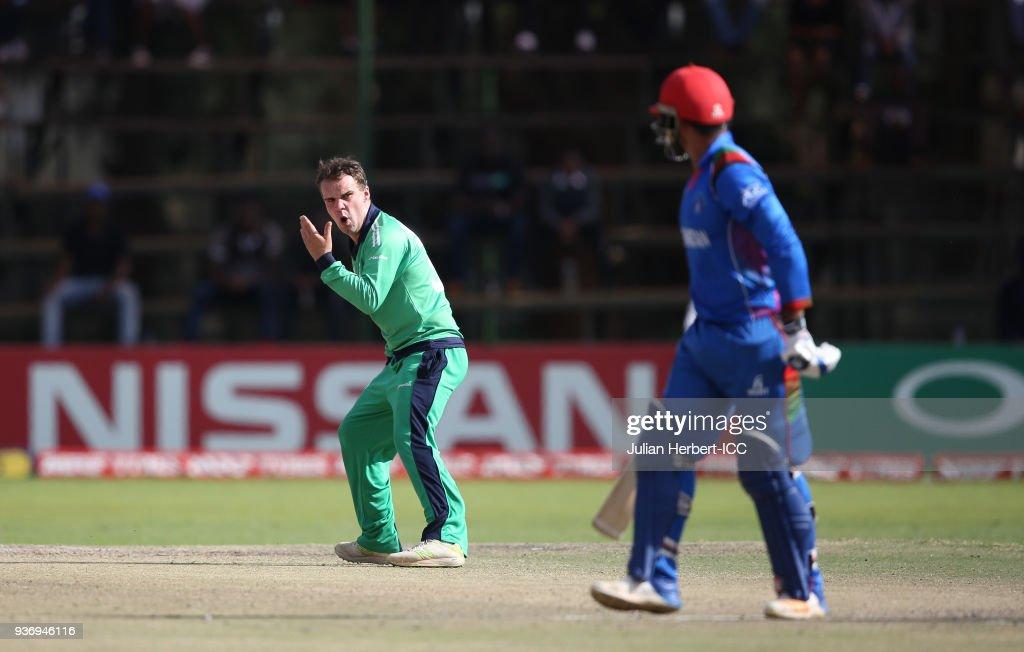 Ireland v Afghanistan - ICC Cricket World Cup Qualifier : News Photo