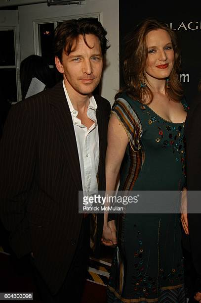 Andrew McCarthy and Carol Schneider attend Academy Awards viewing party at Elaine's at Elaine's NYC USA on March 5 2006