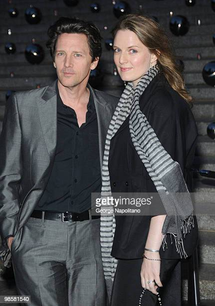 Andrew McCarthy and Dolores Rice arrives at New York State Supreme Court for the Vanity Fair Party during the 2010 Tribeca Film Festival on April 20...