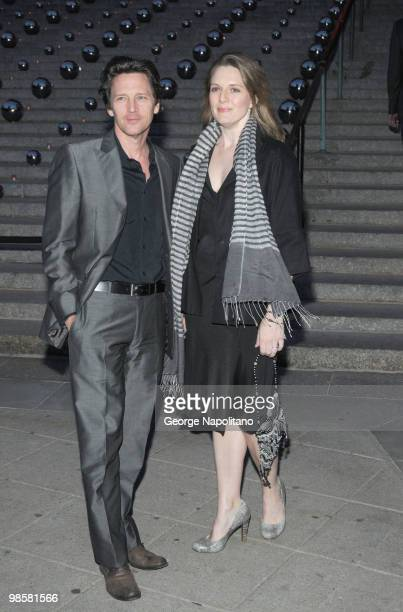 Andrew McCarthy and Dolores Rice arrives at New York State Supreme Court for the Vanity Fair Party during the 2010 Tribeca Film Festival on April 20,...