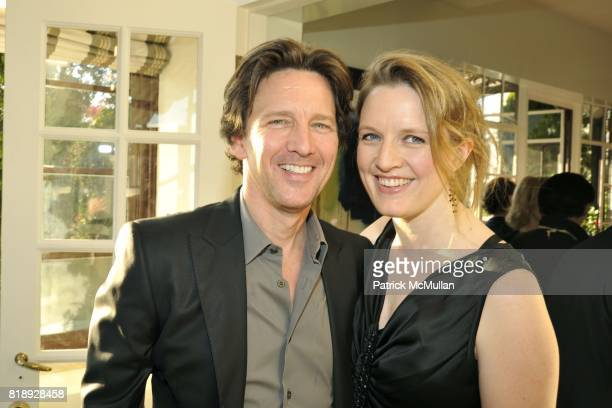 Andrew McCarthy and Dolores Rice attend Book Party hosted by Anne and Jay McInerney Celebrating The Carrie Diaries by Candace Bushnell at Private...