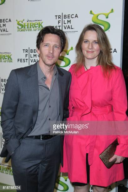 Andrew McCarthy and Dolores Rice attend Opening Night of the 2010 TRIBECA FILM FESTIVAL with the World Premiere of SHREK FOREVER AFTER at Ziegfeld...