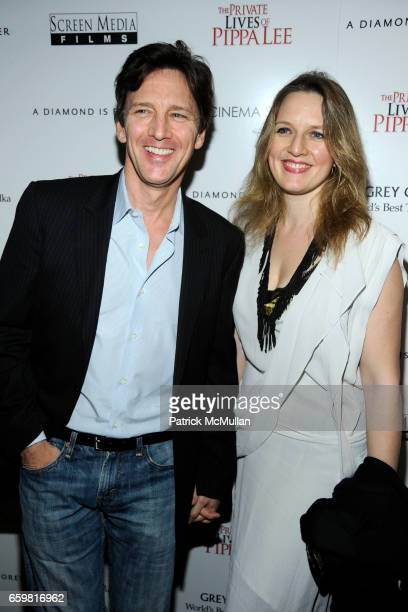 Andrew McCarthy and Dolores Rice attend THE CINEMA SOCIETY A DIAMOND IS FOREVER host a screening of THE PRIVATE LIVES OF PIPPA LEE at AMC 19th Street...