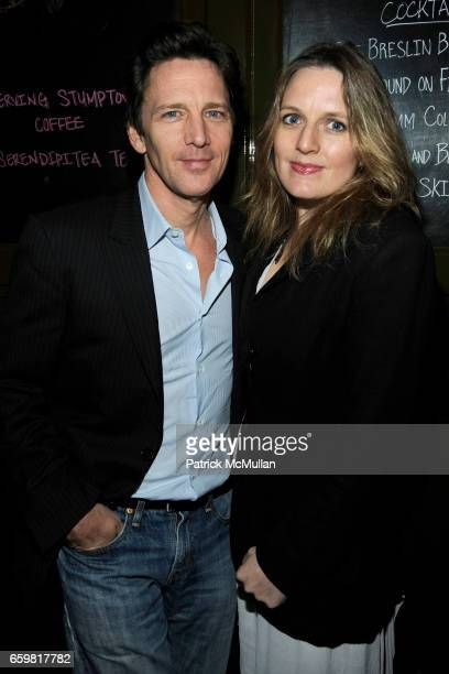 "Andrew McCarthy and Dolores Rice attend THE CINEMA SOCIETY & A DIAMOND IS FOREVER host the after party for ""THE PRIVATE LIVES OF PIPPA LEE"" at Ace..."