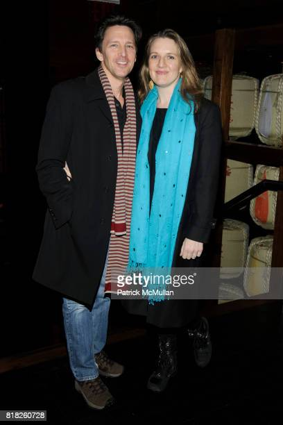Andrew McCarthy and Dolores Rice attend UNIVERSAL PICTURES with THE CINEMA SOCIETY BROOKS BROTHERS host the after party for GREEN ZONE at Nobu 57 on...