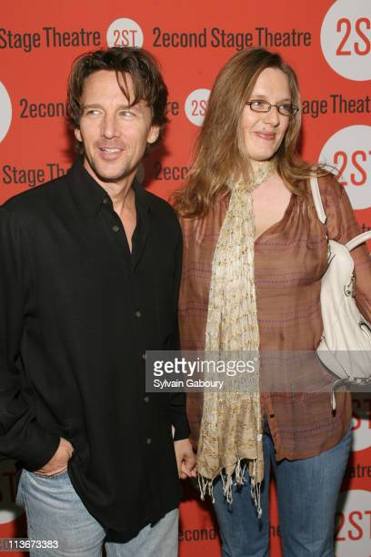 Andrew McCarthy and fiancee Dolores during Opening Night for the Second Stage Theatre Production of Eric Bogodian's Suburbia Arrivals at Second Stage...