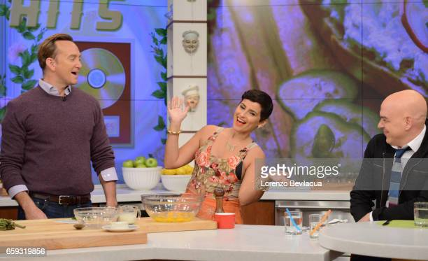 THE CHEW Andrew McCarthy and Nelly Furtado are the guests today Tuesday March 29 2017 on Walt Disney Television via Getty Images's The Chew The Chew...