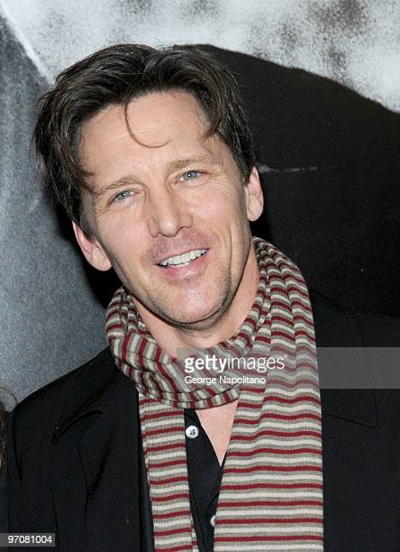 Andrew McCarthy attends a screening of Green Zone hosted by the Cinema Society Universal Pictures and Working Title Films at the AMC Loews Lincoln...
