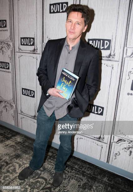 Andrew McCarthy attends AOL Build Series to discuss his new book Just Fly Away at Build Studio on March 27 2017 in New York City