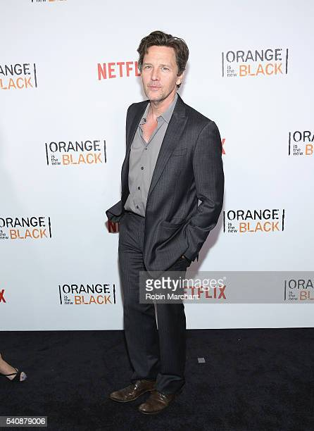 Andrew McCarthy attends Orange Is The New Black New York City Premiere at SVA Theater on June 16 2016 in New York City
