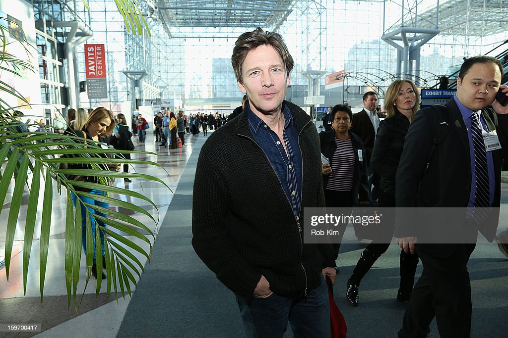 Andrew McCarthy attends The 10th Annual New York Times Travel Show Ribbon Cutting And Preview at Javits Center on January 18, 2013 in New York City.