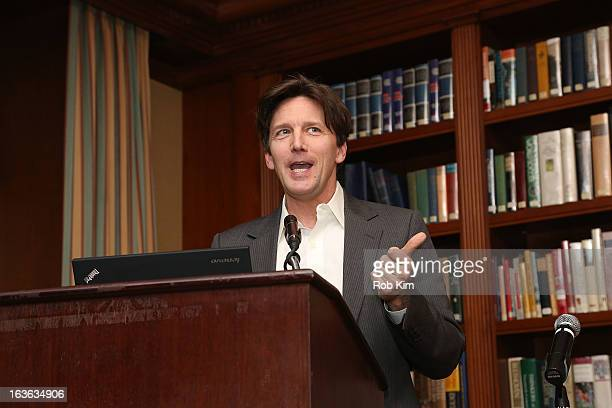 Andrew McCarthy attends the 13th annual Reach the World benefit dinner at the Princeton Club of New York on March 13 2013 in New York City