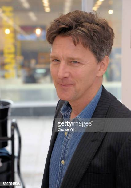 Andrew McCarthy attends The Moms In Conversation at Kmart on March 28 2017 in New York City