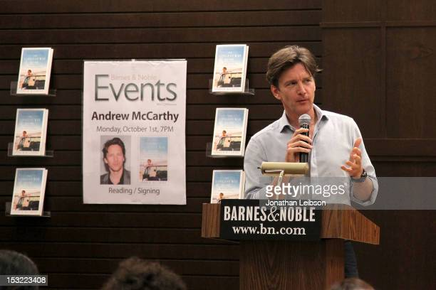 andrew mccarthy book signing for the longest way home ストックフォト