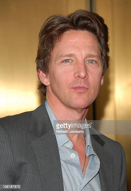 Andrew McCarthy during NBC 20072008 Primetime Preview Red Carpeti Upfronts Arrivals at Radio City Music Hall in New York City New York United States