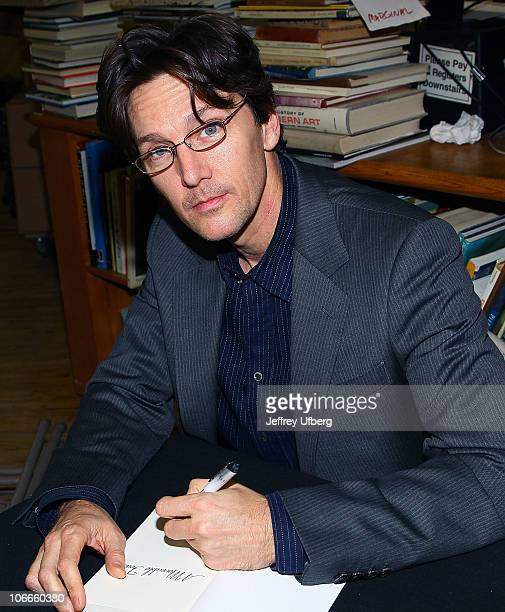 Andrew McCarthy promotes A Moveable Feast at Strand Bookstore on November 9 2010 in New York City