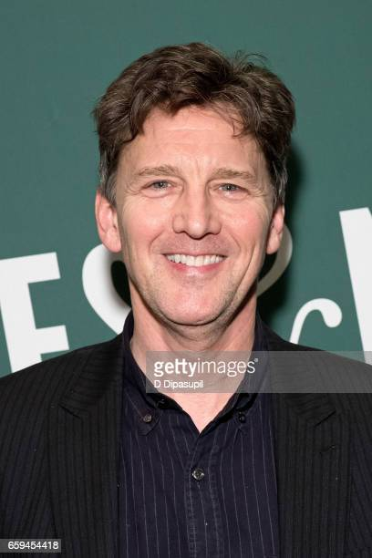 Andrew McCarthy promotes his book Just Fly Away at Barnes Noble Union Square on March 28 2017 in New York City