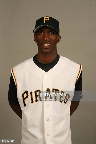 Andrew McCutchen of the Pittsburgh Pirates during photo day at McKechnie Field on February 26 2006 in Bradenton Florida