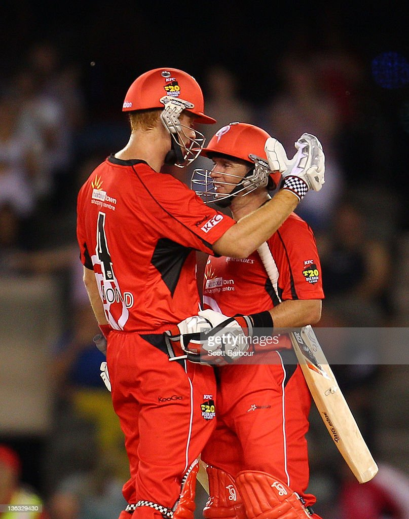 Big Bash League - Renegades v Sixers
