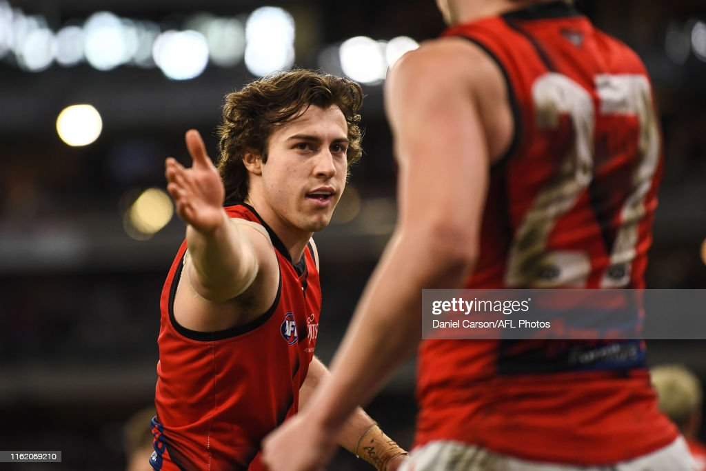 AFL Rd 22 - Fremantle v Essendon : News Photo