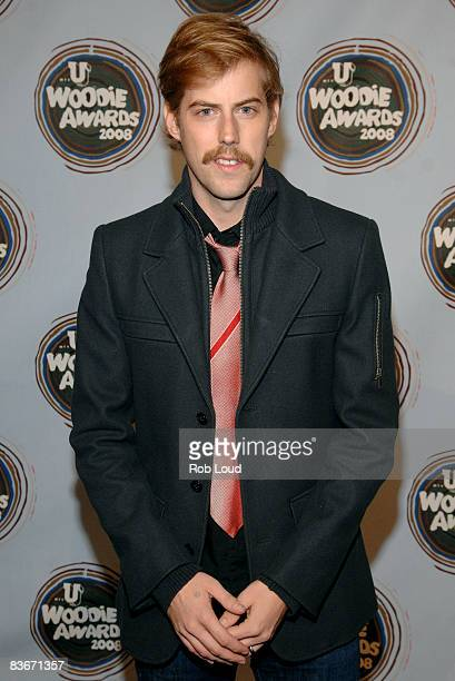 4f275e0b8 Andrew McMahon of Jack's Mannequin attends the 2008 mtvU Woodie Awards at  Roseland Ballroom on November