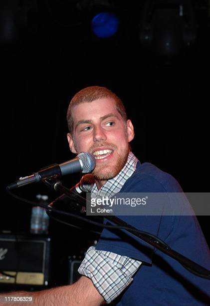 Andrew McMahon of Jack's Mannequin during Jack's Mannequin in Concert at the Viper Room in Hollywood January 25 2006 at Viper Room in Hollywood...