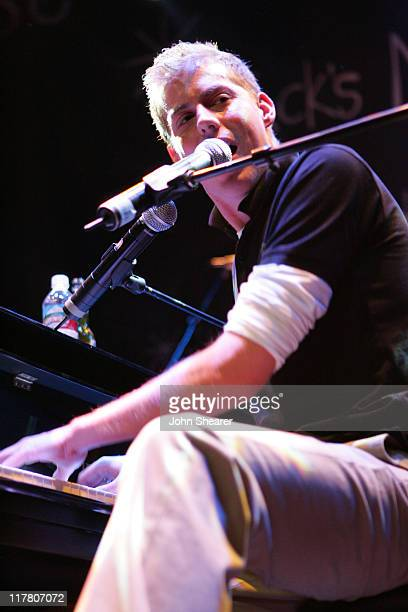 Andrew McMahon of Jack's Mannequin during Jack's Mannequin in Concert at the House of Blues in Anaheim April 14 2006 at House of Blues in Anaheim...
