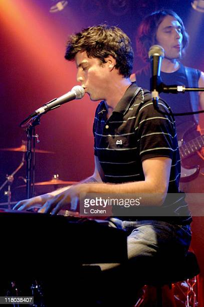 Andrew McMahon of Jack's Mannequin during Jack's Mannequin in Concert at Hollywood's Viper Room April 6 2005 at The Viper Room in West Hollywood...