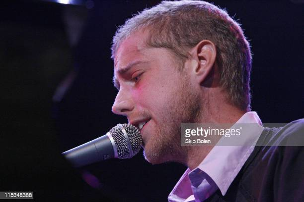 Andrew McMahon of Jack's Mannequin during Visa Signature presents 'Signature Sounds Live on the Sunset Strip' with Fall Out Boy in Concert February 6...