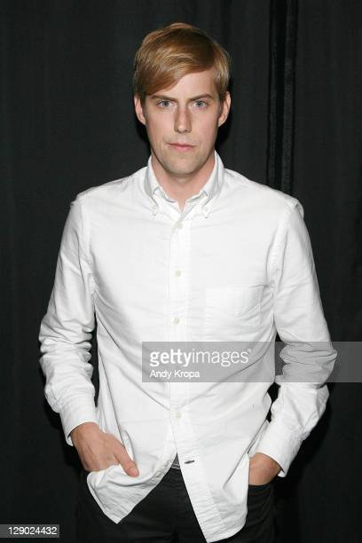Andrew McMahon of Jack's Mannequin visits the Apple Store Soho on October 10 2011 in New York City