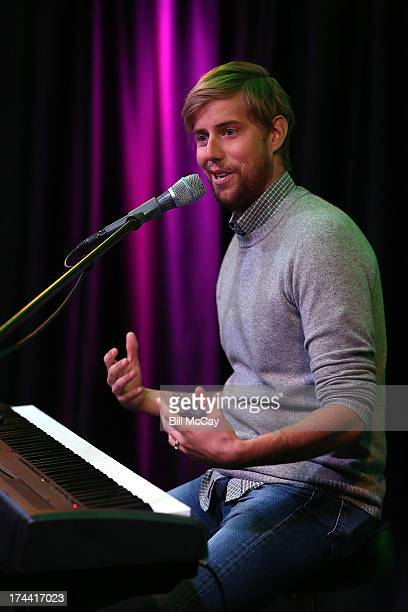 Andrew McMahon performs at Radio 1045's Performance Theater July 25 2013 in Bala Cynwyd Pennsylvania