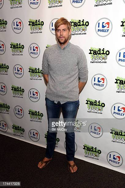 Andrew McMahon poses at Radio 1045's Performance Theater July 25 2013 in Bala Cynwyd Pennsylvania