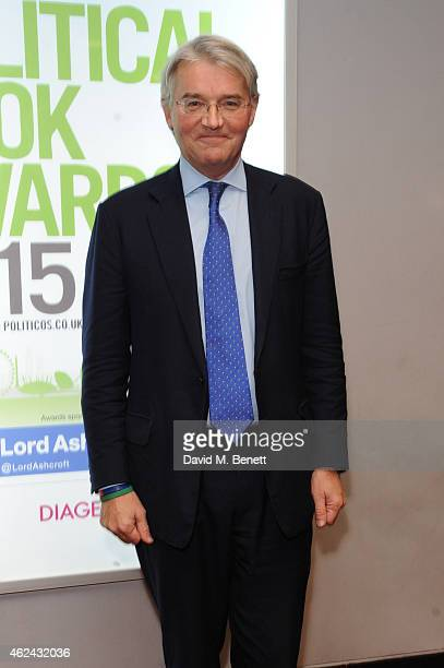 Andrew Mitchell attends the Paddy Power Political Book Awards at BFI IMAX on January 28 2015 in London England