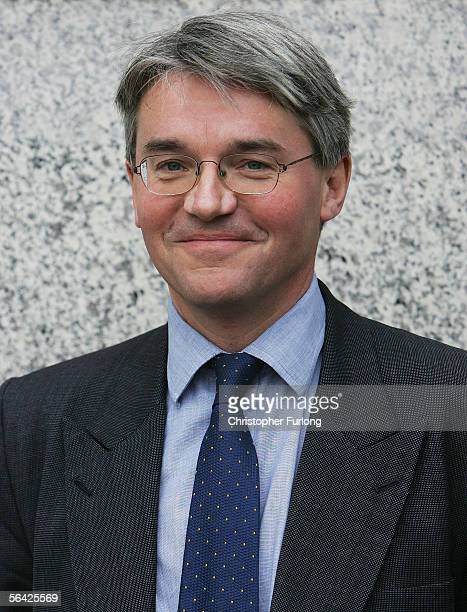 Andrew Mitchell MP arrives for the first meeting of the conservative party shadow cabinet meeting under new leader David Cameron at The International...