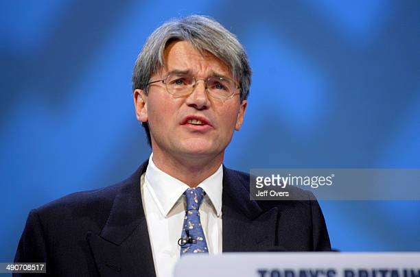 Andrew Mitchell speaking at the Conservative Party conference Blackpool 2005