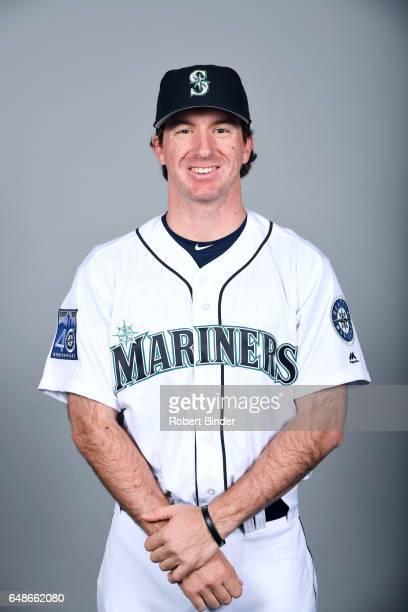 Andrew Moore of the Seattle Mariners poses during Photo Day on Monday February 20 2017 at Peoria Sports Complex in Peoria Arizona