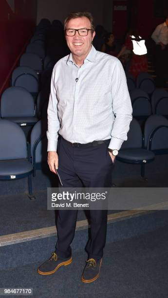 Andrew Morton attends the press night after party for 'The Diana Tapes' at the Stockwell Playhouse on June 26 2018 in London England