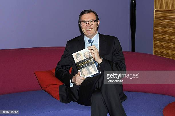 Andrew Morton presents his book 'Ladies of Spain' at the Petite Palace President Castellana Hotel on March 15 2013 in Madrid Spain