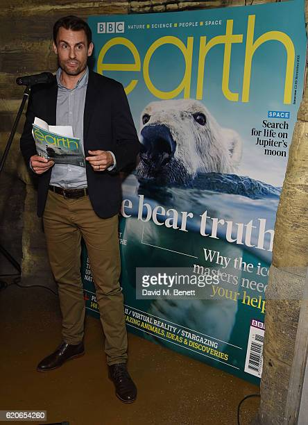 Andrew Moulitrie attends the launch of BBC Earth magazine at SEA LIFE London Aquarium on November 2 2016 in London England